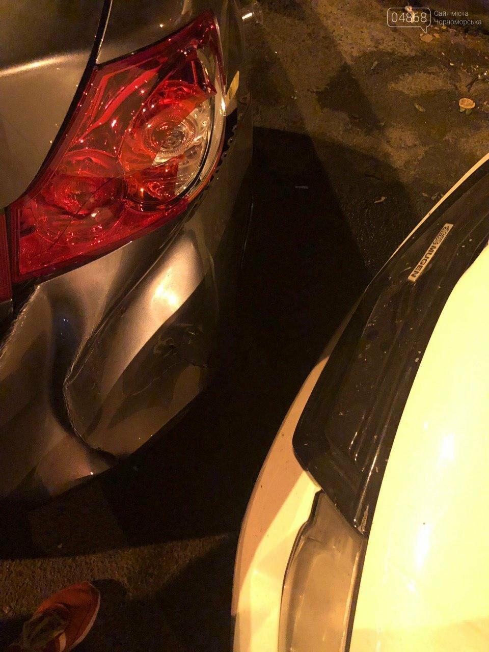 Audi протаранил три машины: ночное ДТП в Черноморске, фото-14
