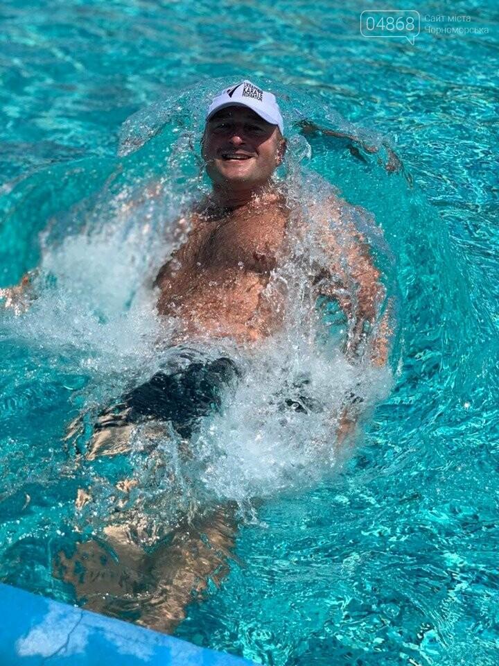 Черноморская Катана отпраздновала свои спортивные победы в аквапарке (видео), фото-10