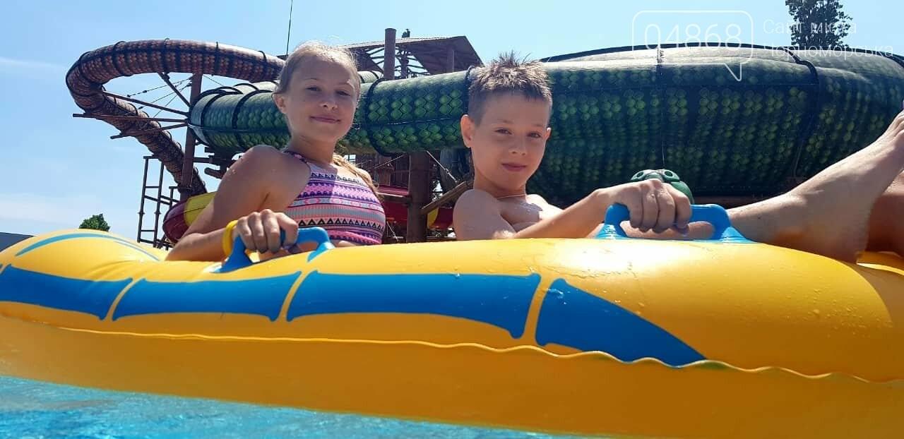 Черноморская Катана отпраздновала свои спортивные победы в аквапарке (видео), фото-2