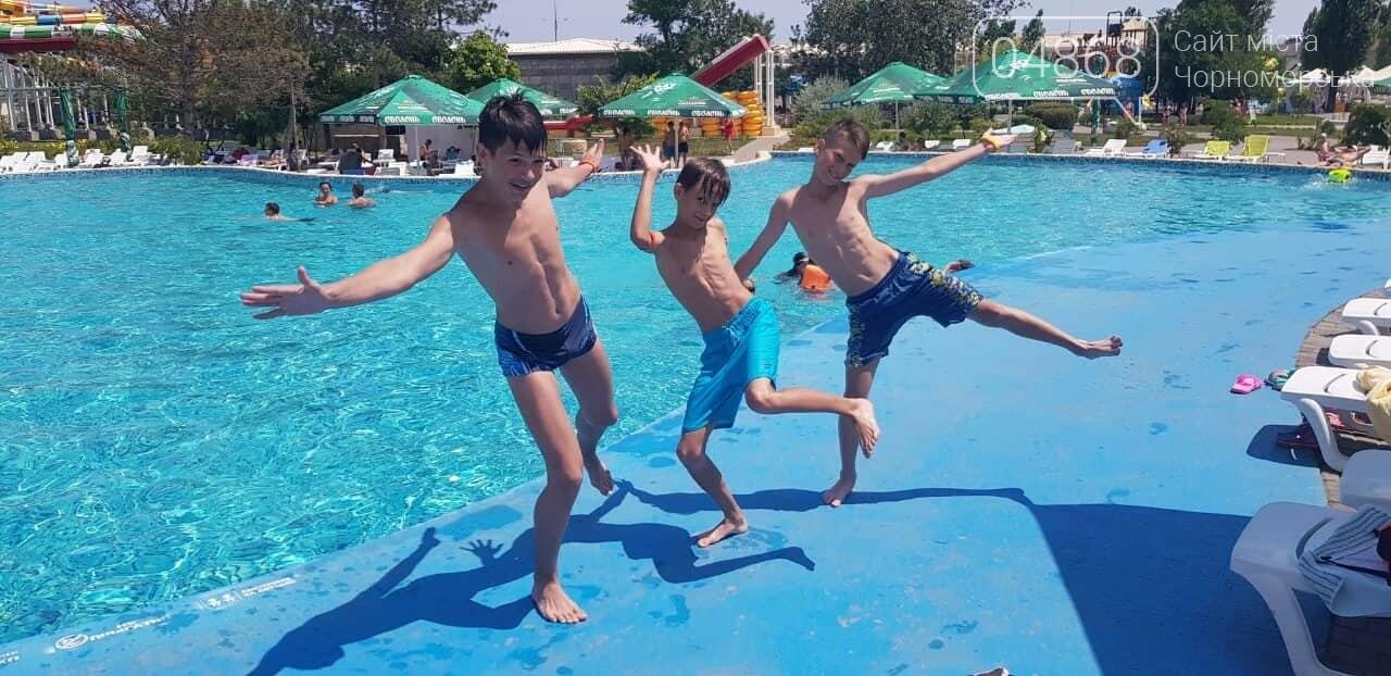 Черноморская Катана отпраздновала свои спортивные победы в аквапарке (видео), фото-1