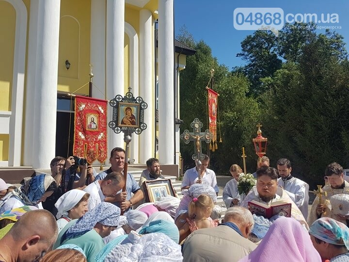 В Черноморске отметили Преображение Господне (видео), фото-5