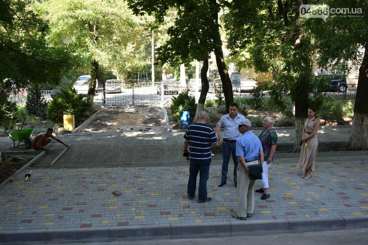 Школы Черноморска проверяют на готовность к учебному году (видео), фото-4