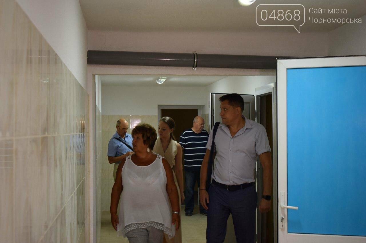 Школы Черноморска проверяют на готовность к учебному году (видео), фото-12