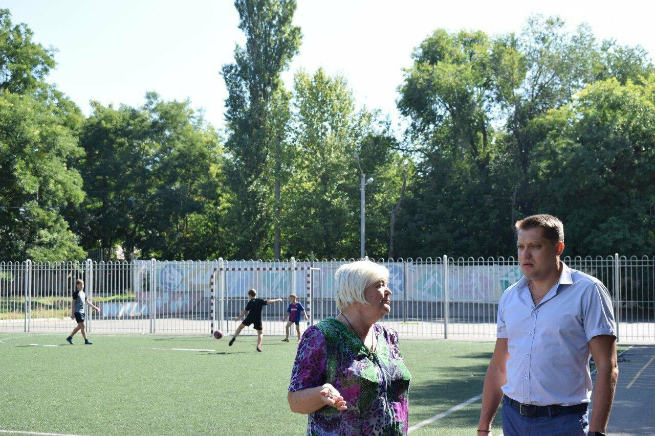 Школы Черноморска проверяют на готовность к учебному году (видео), фото-14