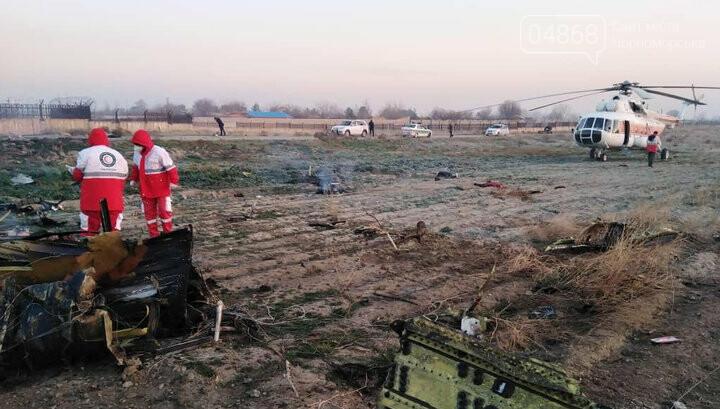 Самолёт украинских авиалиний потерпел крушение в Тегеране, фото-5