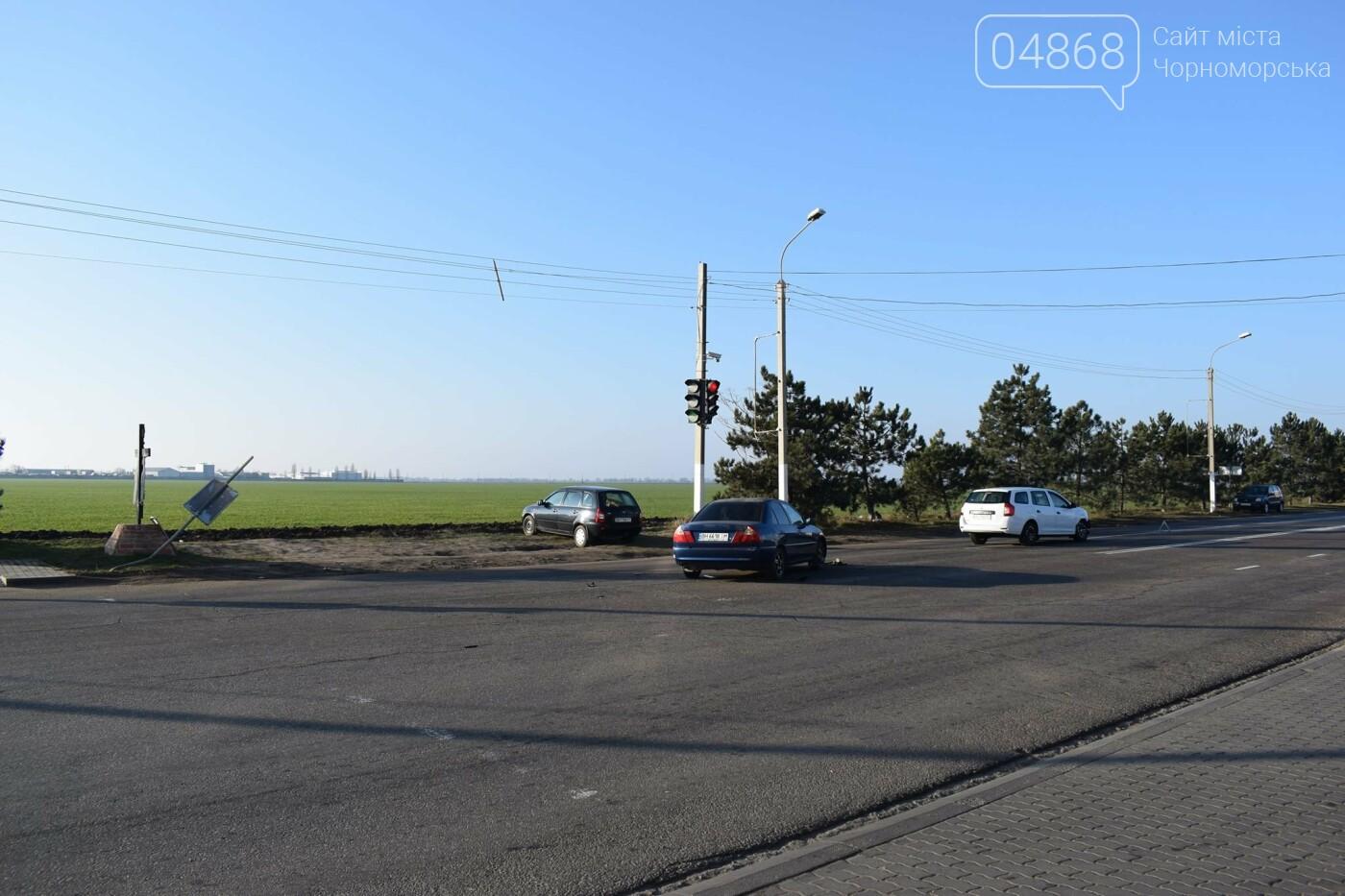 Утренее ДТП в Черноморске, фото-2