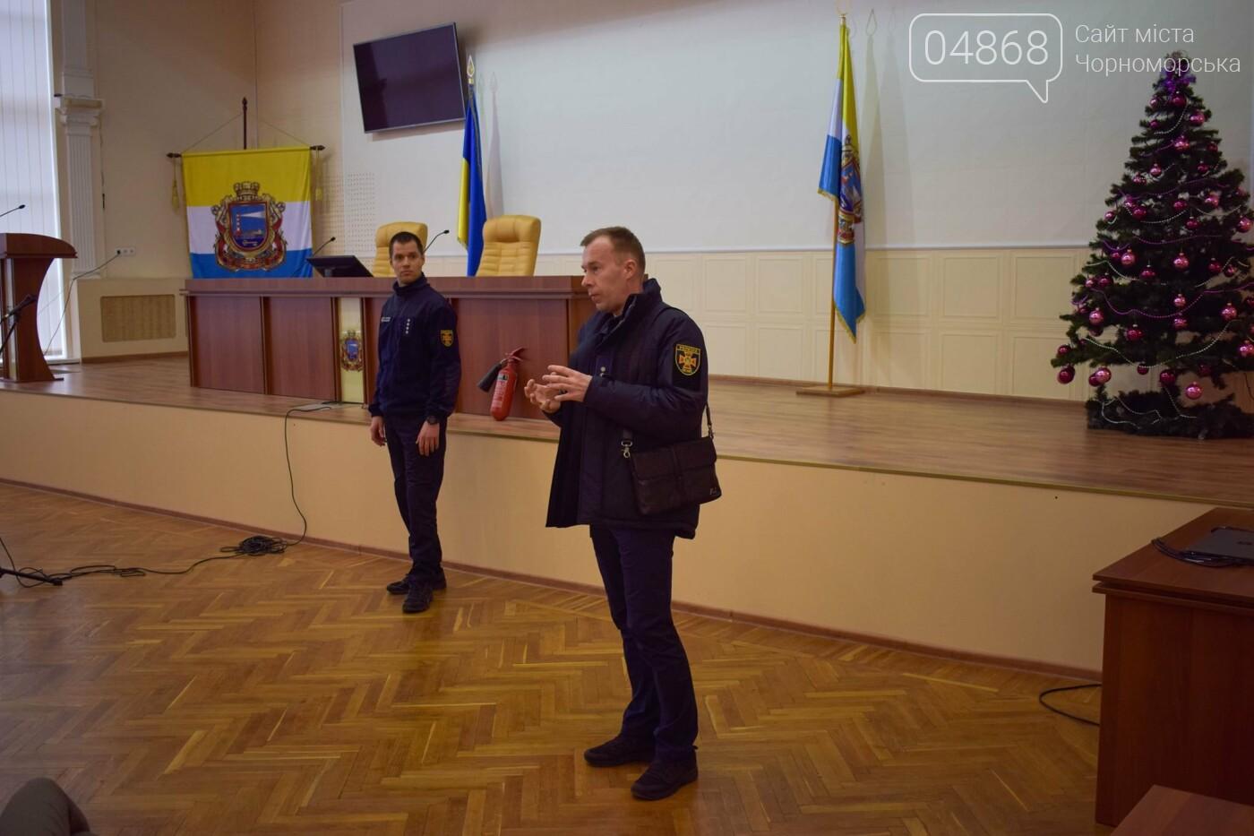 Черноморские спасатели обучали местных чиновников правилам пожарной безопасности, фото-6