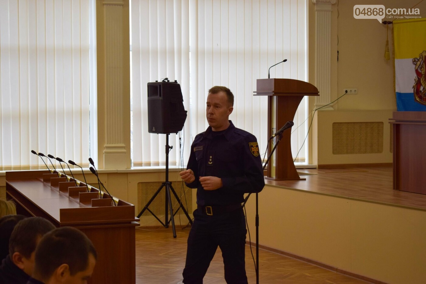 Черноморские спасатели обучали местных чиновников правилам пожарной безопасности, фото-7