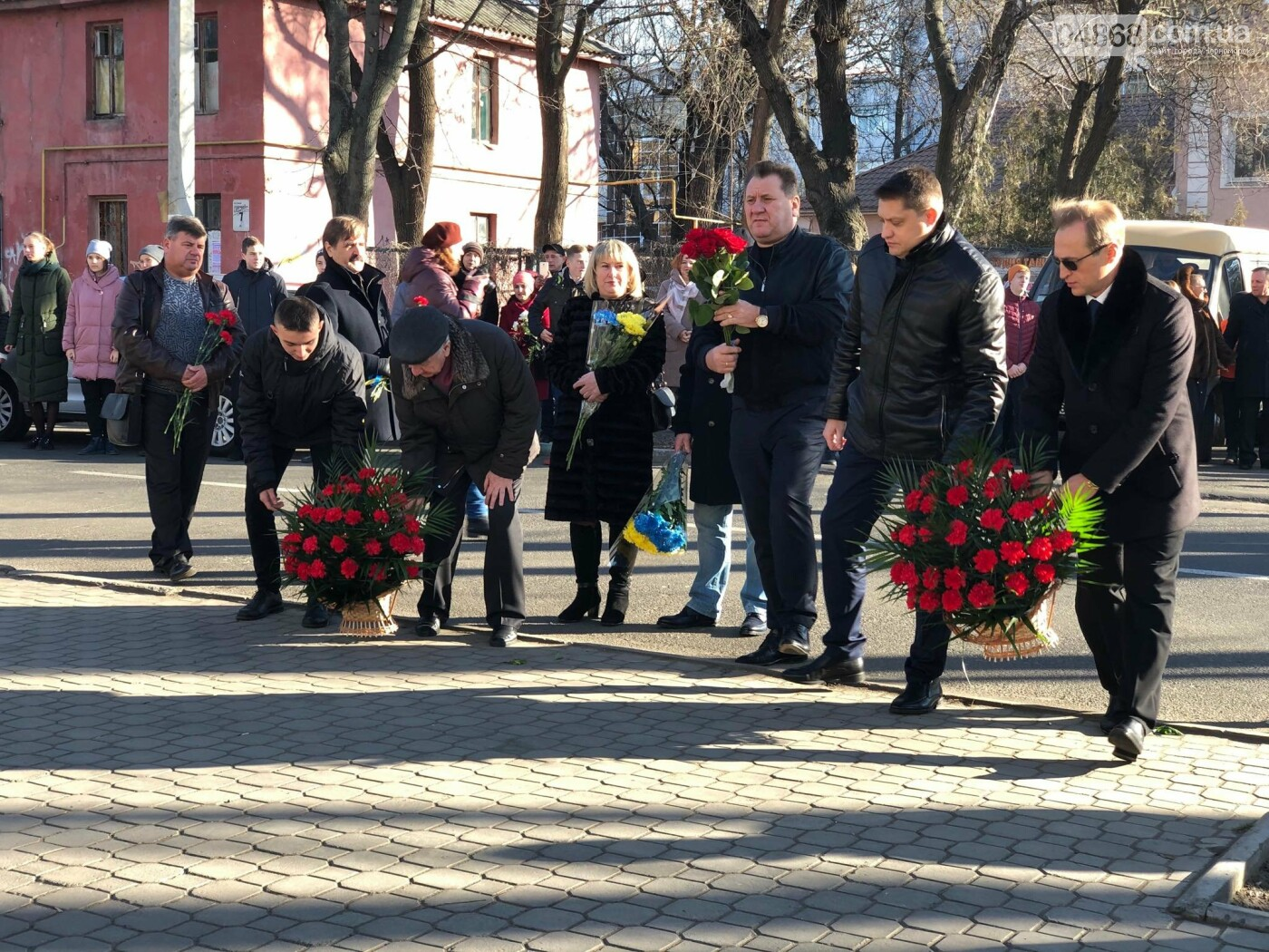 В Черноморске отметили День Соборности живой цепью, фото-3