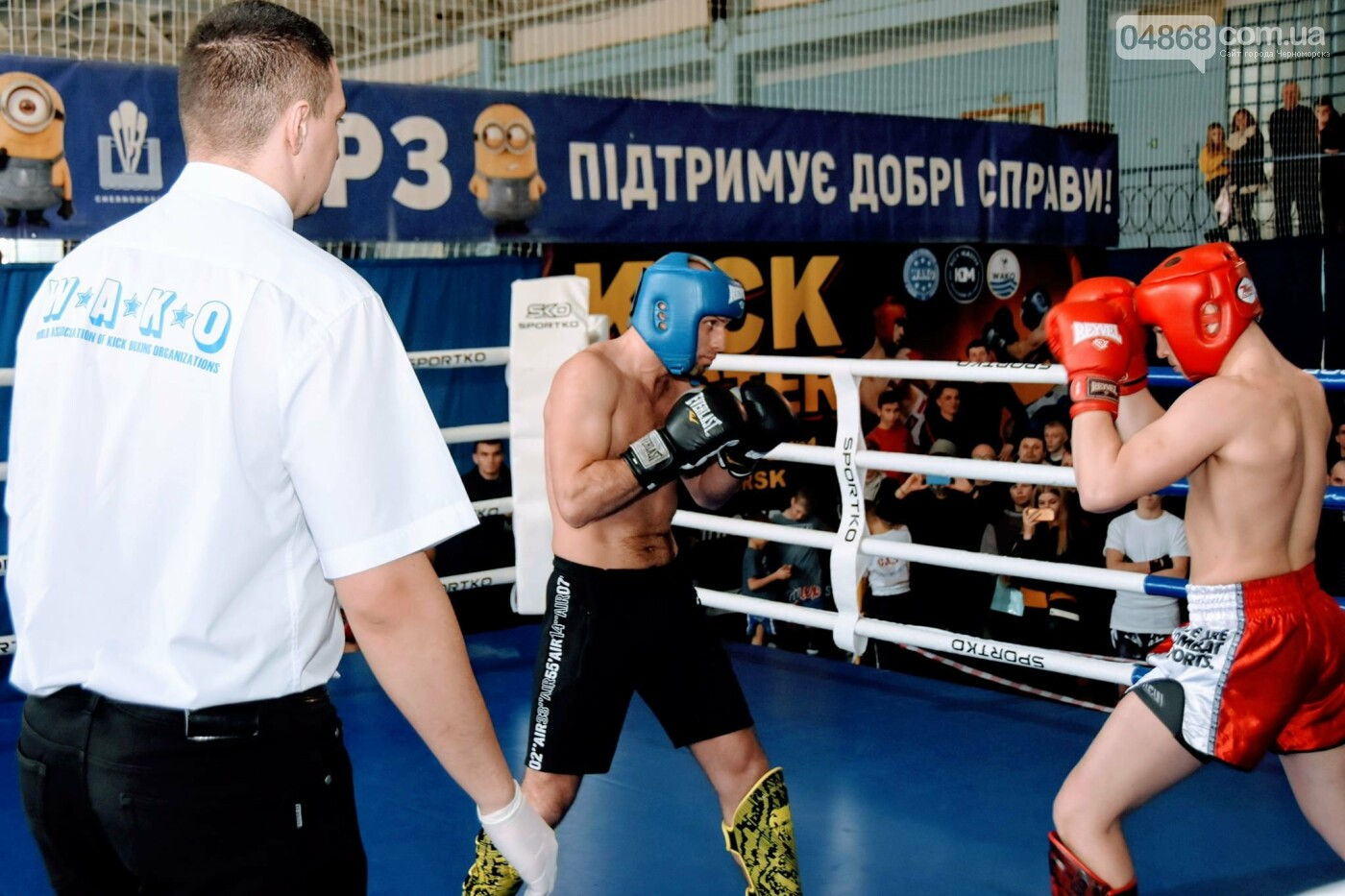 За золотом: в Черноморске прошёл турнир по кикбоксингу (видео), фото-7