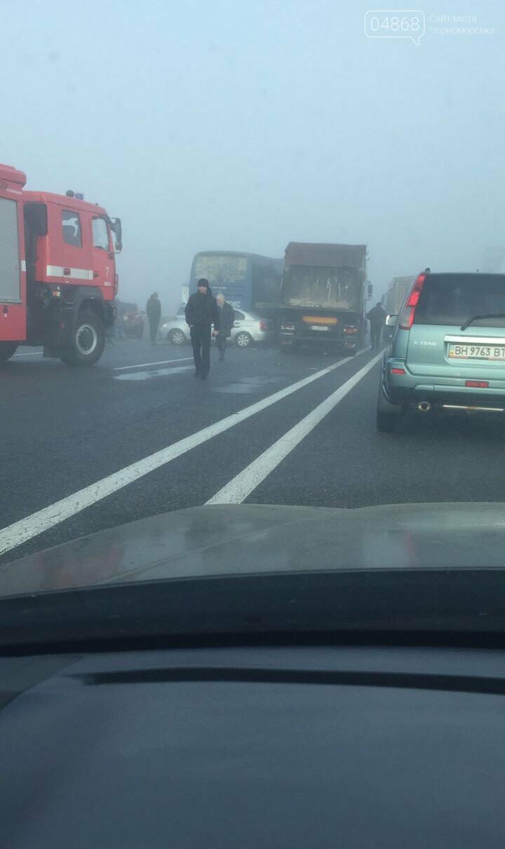 Смертельное ДТП на трассе Одесса - Киев: столкнулось 11 автомобилей, фото-4