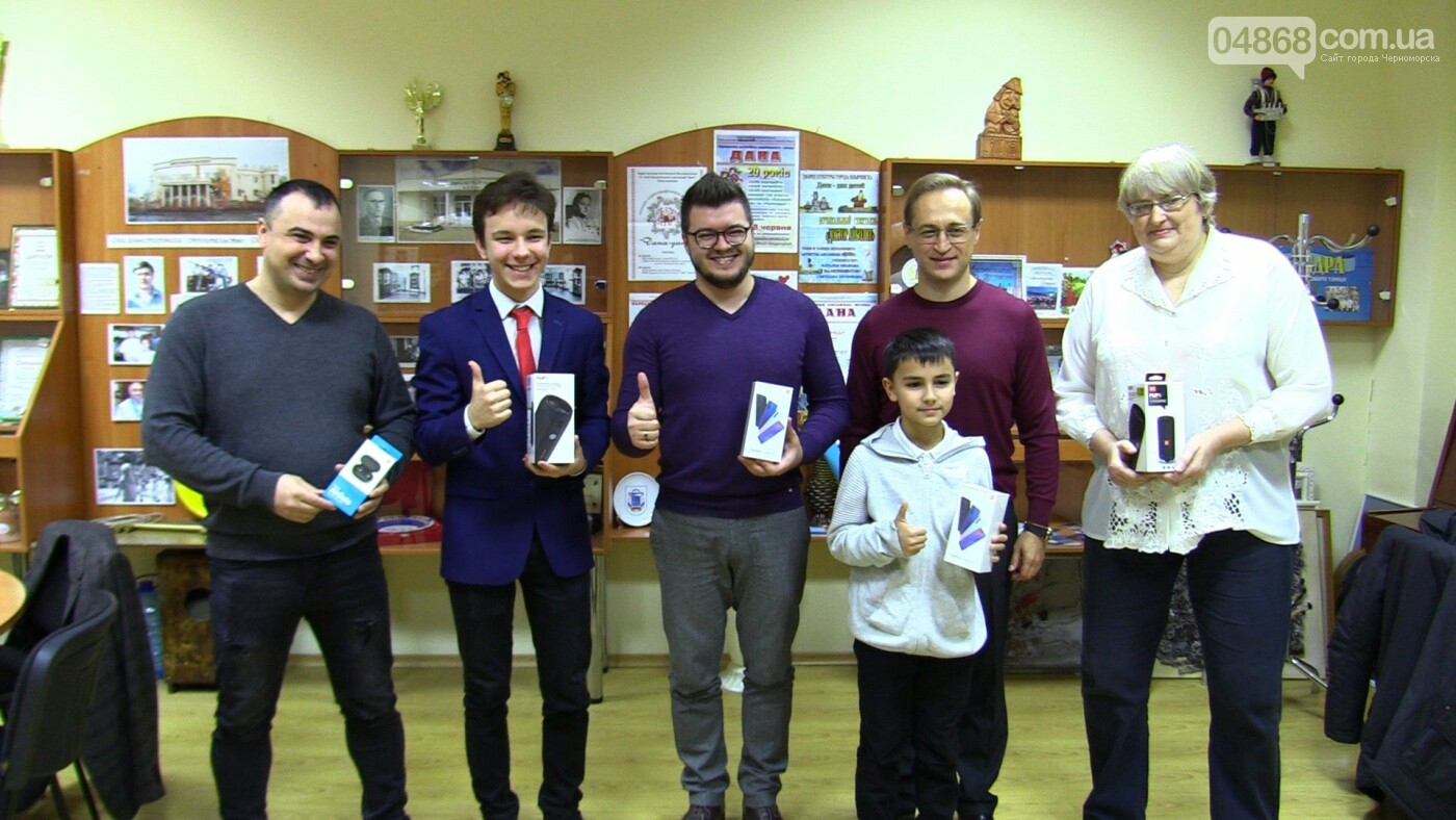 В Черноморске наградили победителей конкурса «Новогодний видеоролик», фото-1