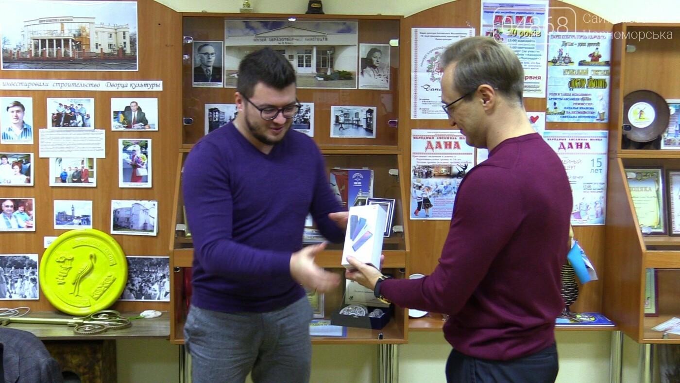 В Черноморске наградили победителей конкурса «Новогодний видеоролик», фото-3