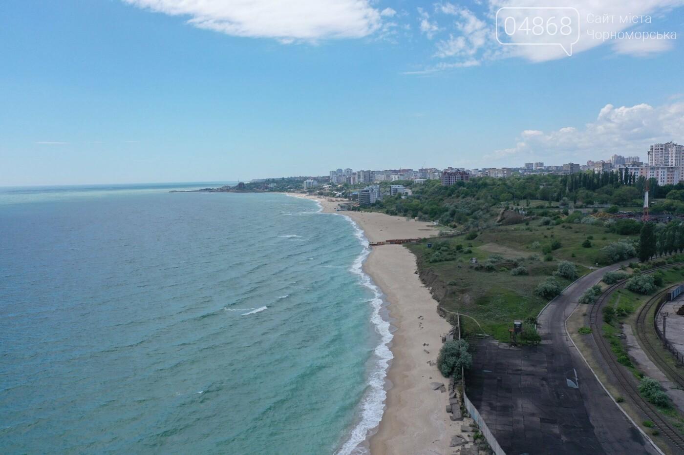 Жители Черноморска предлагают открыть пляж на территории порта, фото-6