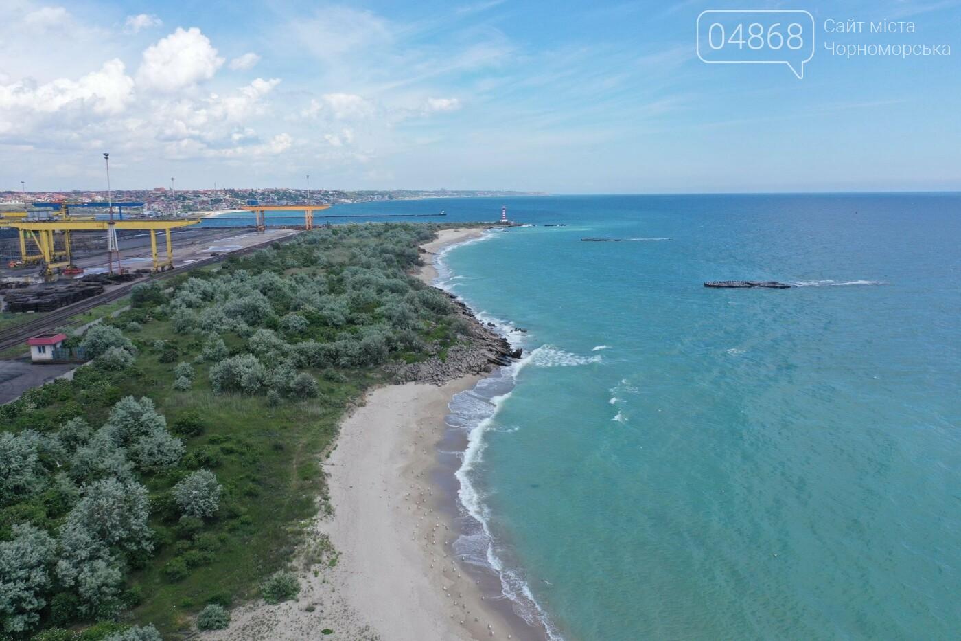 Жители Черноморска предлагают открыть пляж на территории порта, фото-7