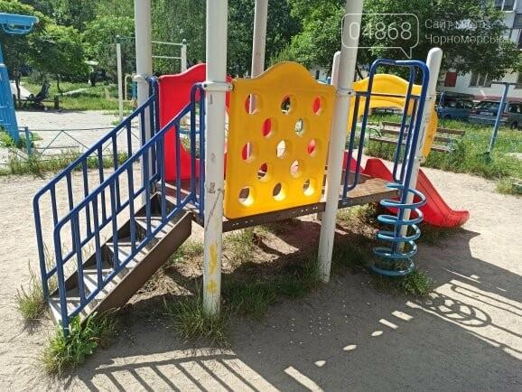 Детские площадки в Черноморске могут быть небезопасны (+фото), фото-1