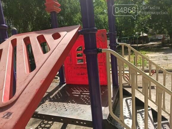 Детские площадки в Черноморске могут быть небезопасны (+фото), фото-2