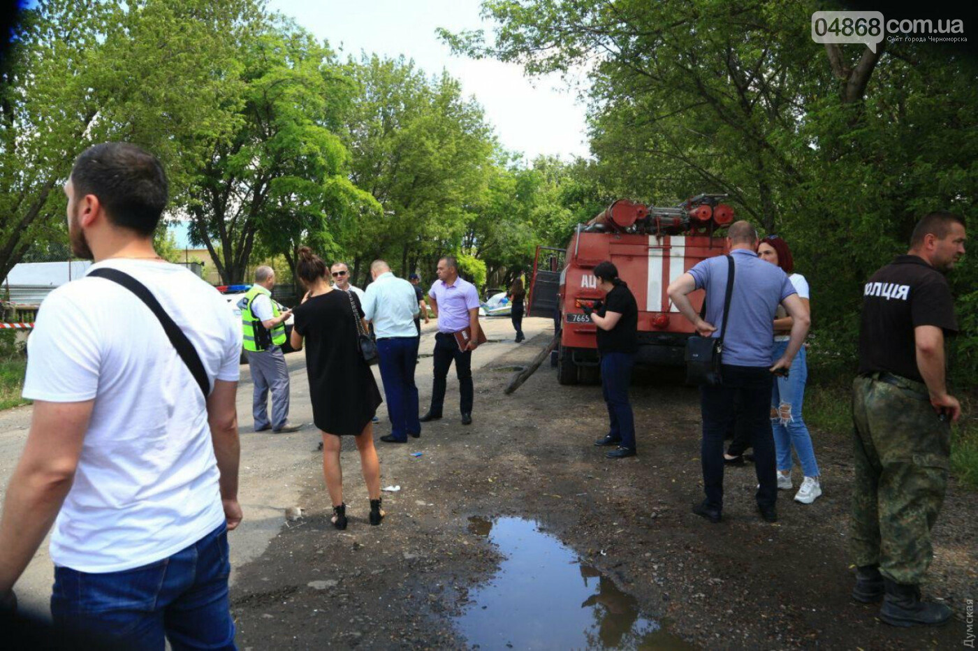 Смертельное ЧП: в Одессе разбился самолет авиазавода (обновлено), фото-6