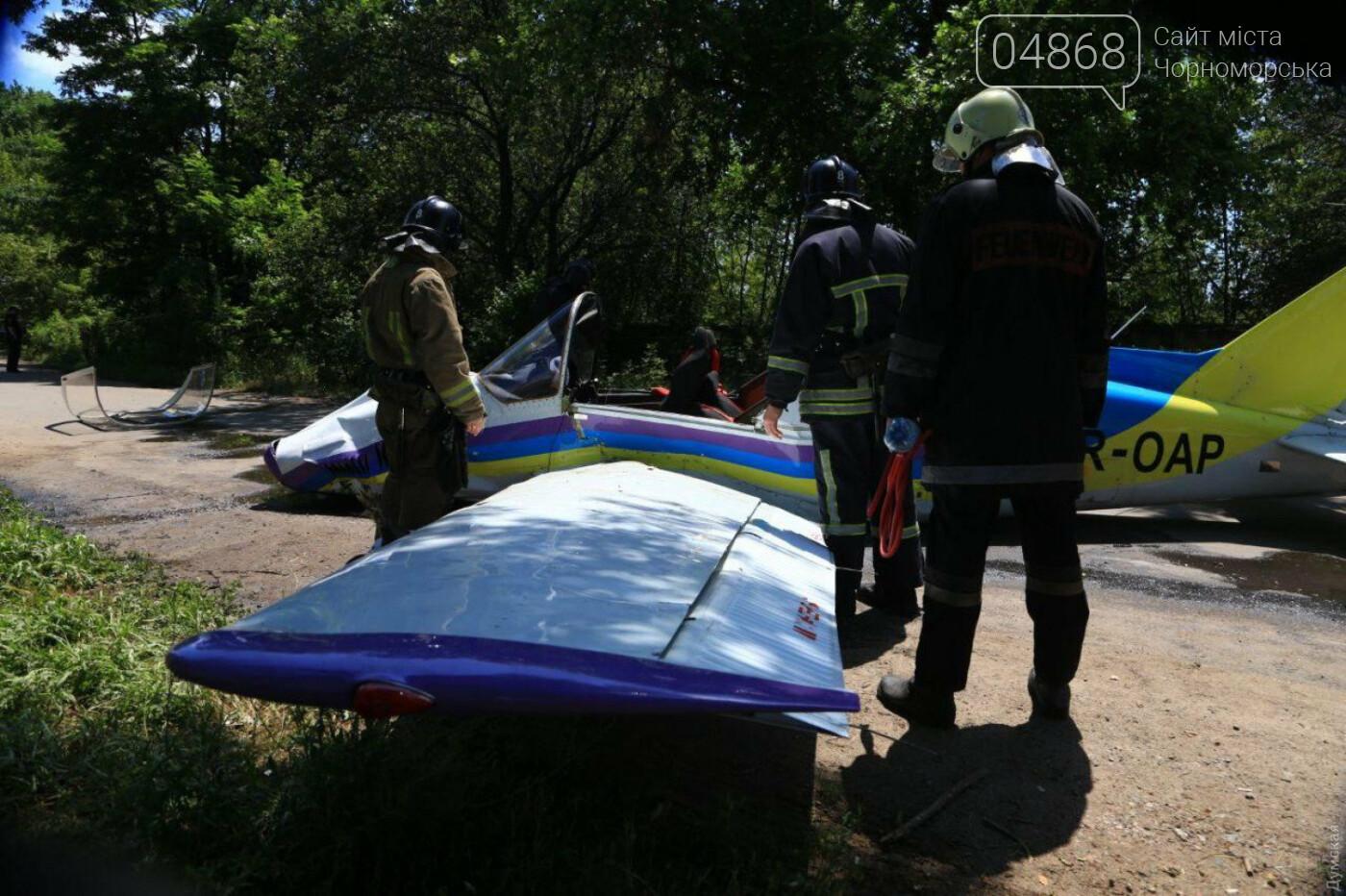 Смертельное ЧП: в Одессе разбился самолет авиазавода (обновлено), фото-2