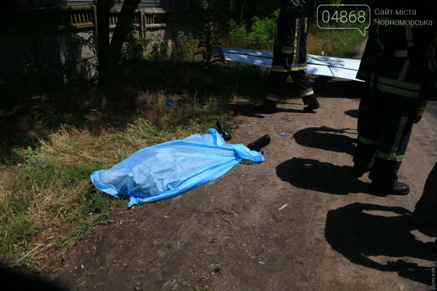 Смертельное ЧП: в Одессе разбился самолет авиазавода (обновлено), фото-7