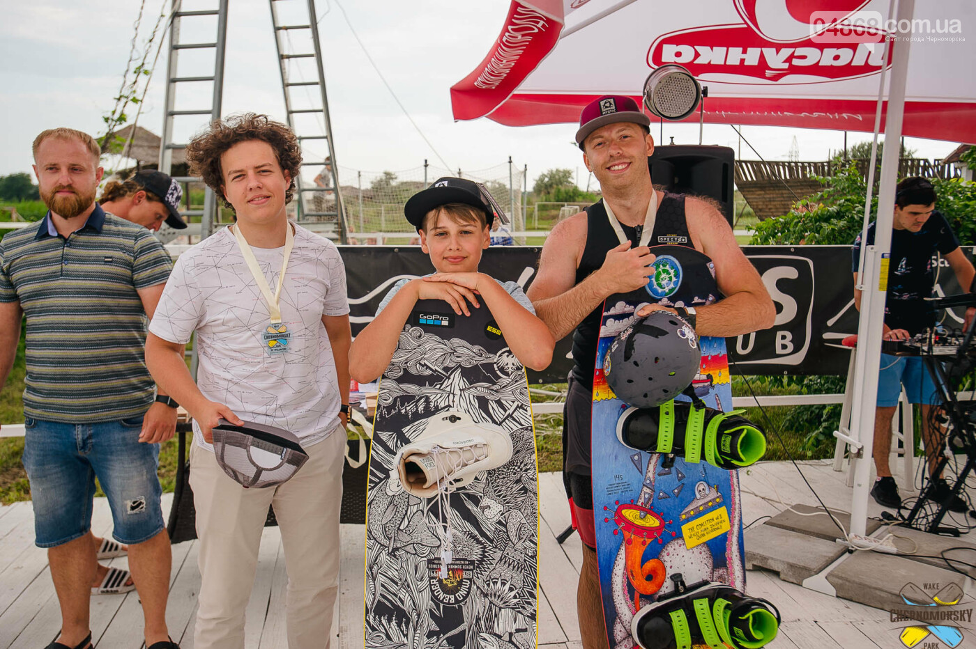 В Черноморском вейк-парке прошёл этап Чемпионата Украины, фото-7