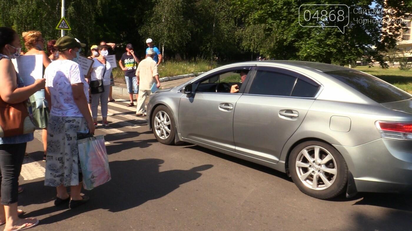 Перекрытие дорог в Черноморске: работники порта продолжают отстаивать свои права, фото-3