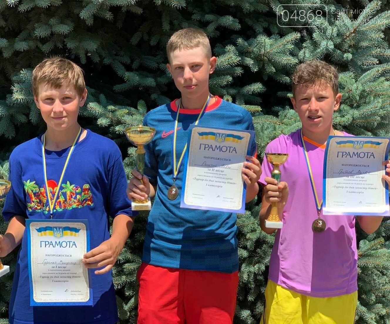 В Черноморске прошёл детский теннисный турнир, фото-2
