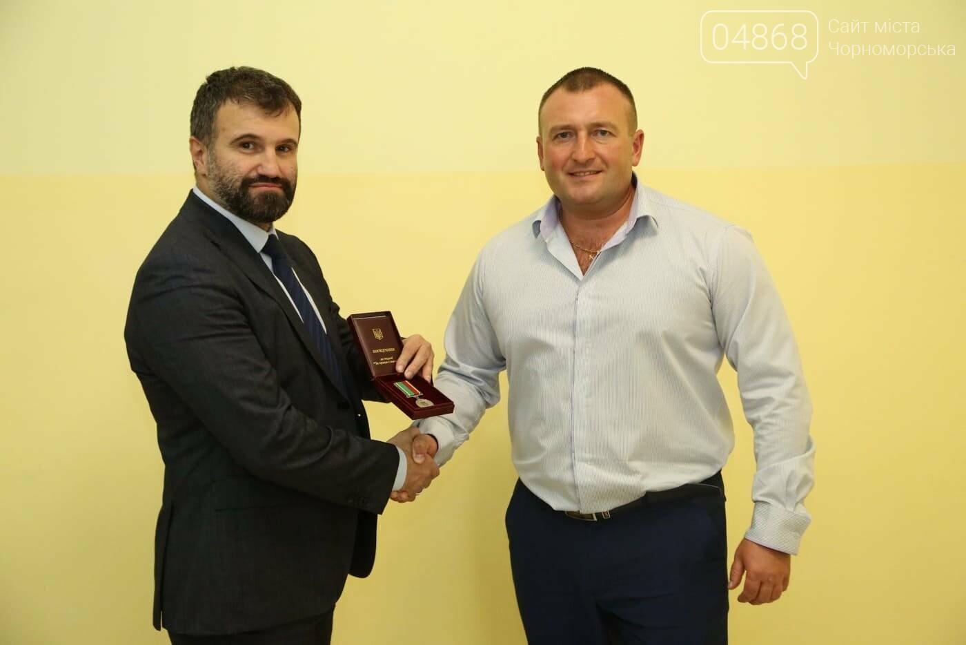 Каратистам из Черноморска вручили президентскую награду , фото-2
