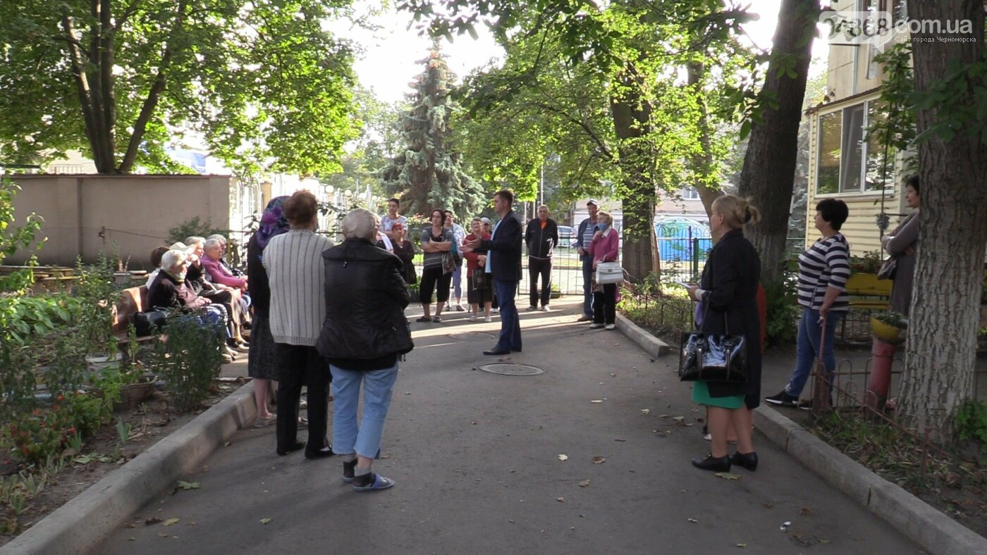 Четкое видение задач: Фёдор Балычев познакомился с избирателями Черноморска (видео), фото-3