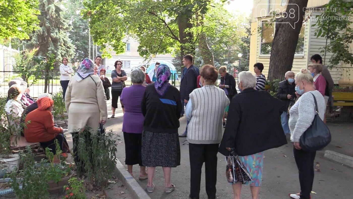 Четкое видение задач: Фёдор Балычев познакомился с избирателями Черноморска (видео), фото-4