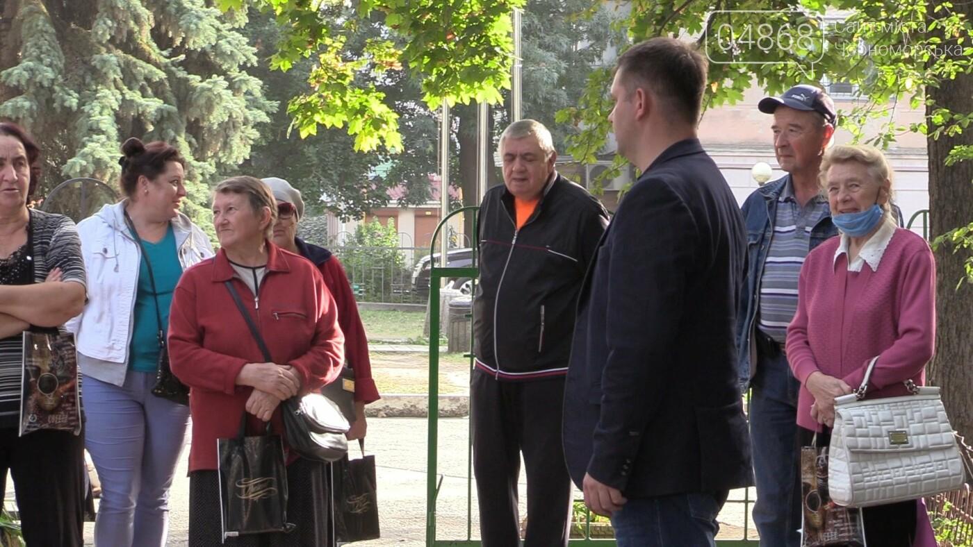 Четкое видение задач: Фёдор Балычев познакомился с избирателями Черноморска (видео), фото-5