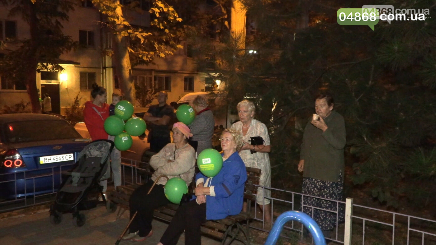 Команда партии «Слуга Народа» провела встречу с жителями Черноморска (видео), фото-3
