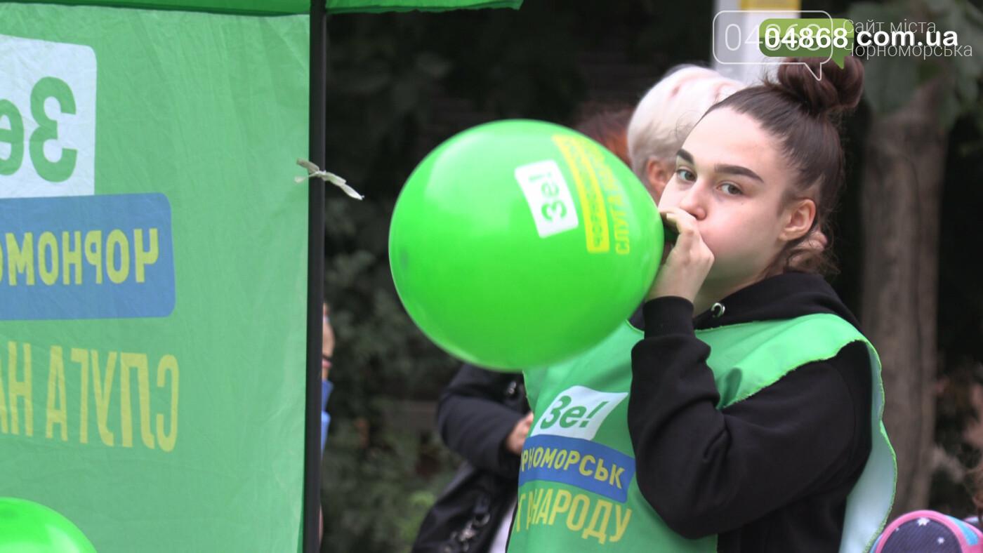 Екатерина Чегаринская знакомит избирателей с командой и программой партии «Слуга Народа» (видео), фото-4