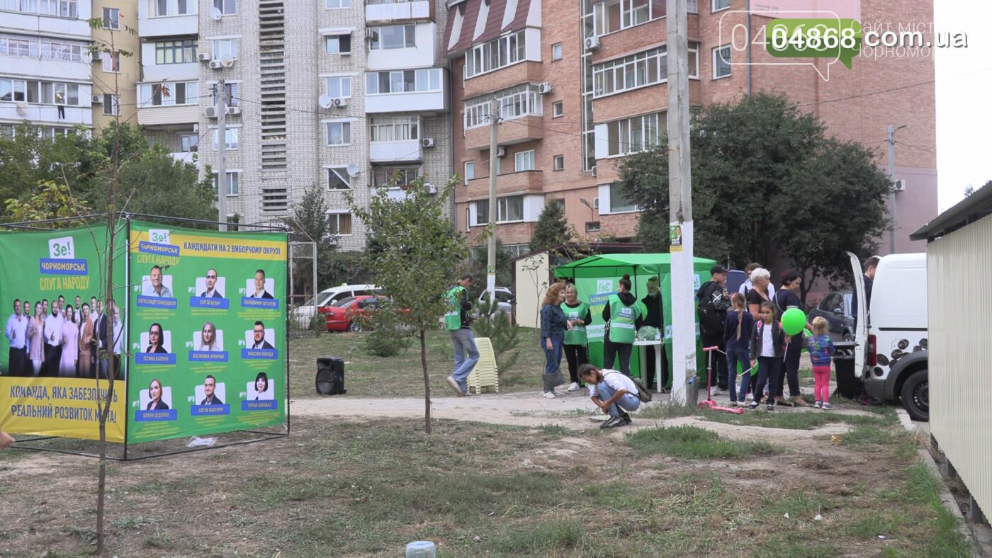 Екатерина Чегаринская знакомит избирателей с командой и программой партии «Слуга Народа» (видео), фото-5