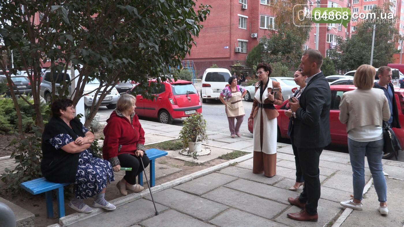 Екатерина Чегаринская знакомит избирателей с командой и программой партии «Слуга Народа» (видео), фото-1