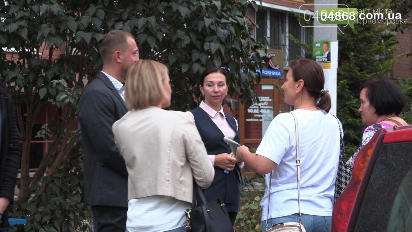 Екатерина Чегаринская знакомит избирателей с командой и программой партии «Слуга Народа» (видео), фото-3
