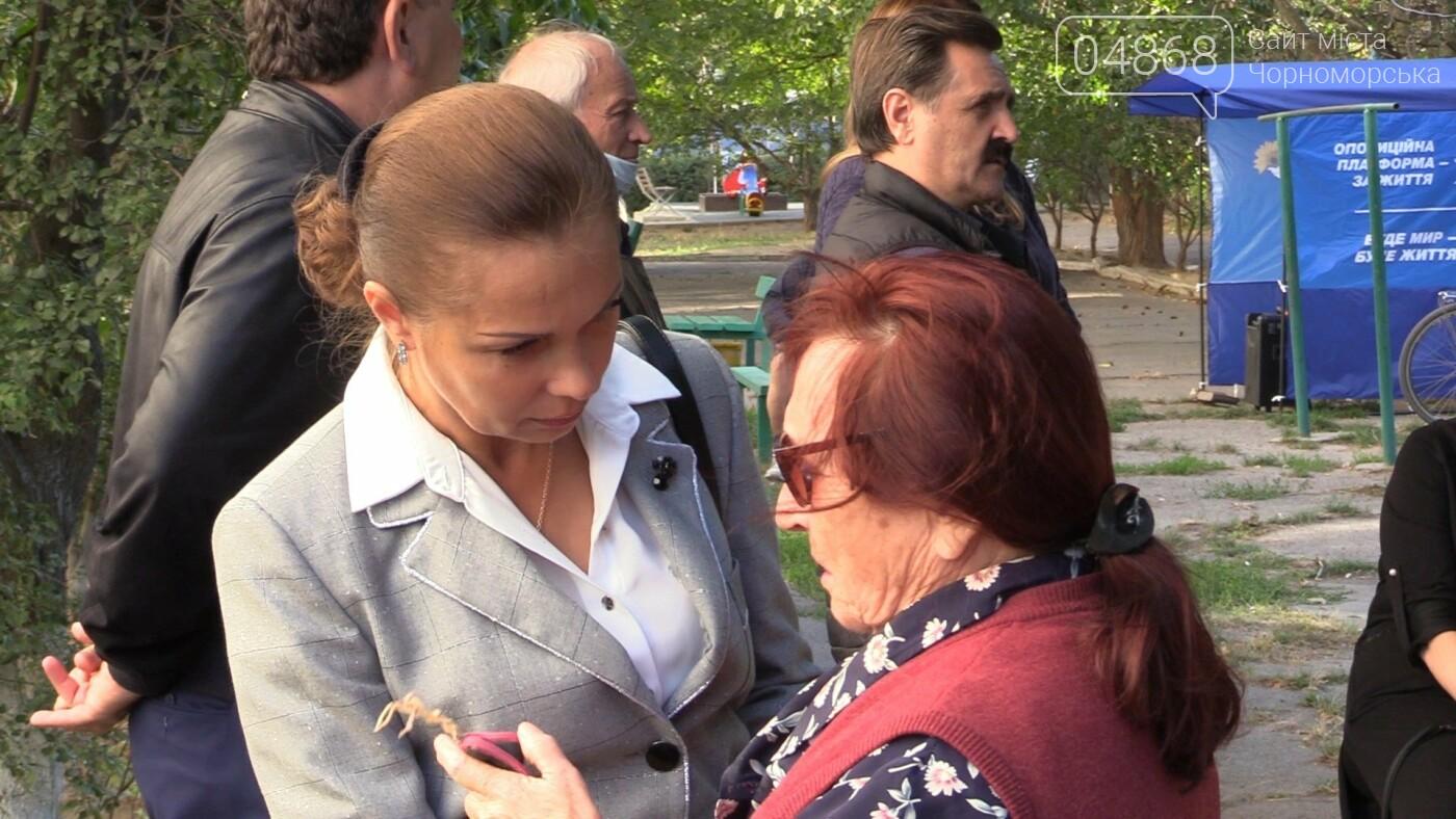 Оксана Демченко провела встречу с избирателями (видео), фото-2
