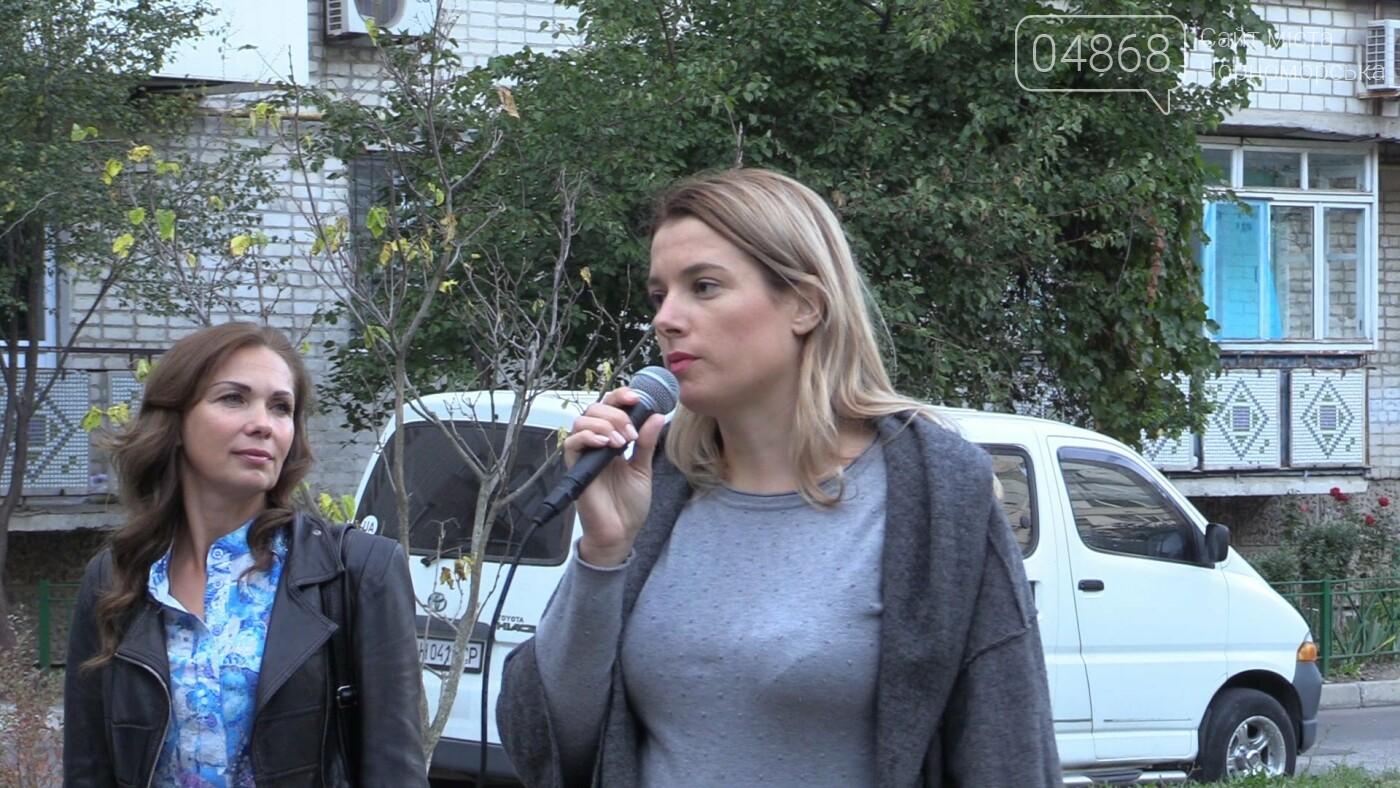 Оксана Демченко представила горожанам предвыборную программу ПП «ОПЗЖ» (видео), фото-9