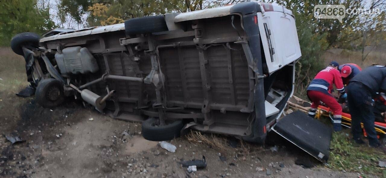 На трассе Одесса-Рени столкнулись два микроавтобуса: есть погибшие, фото-2