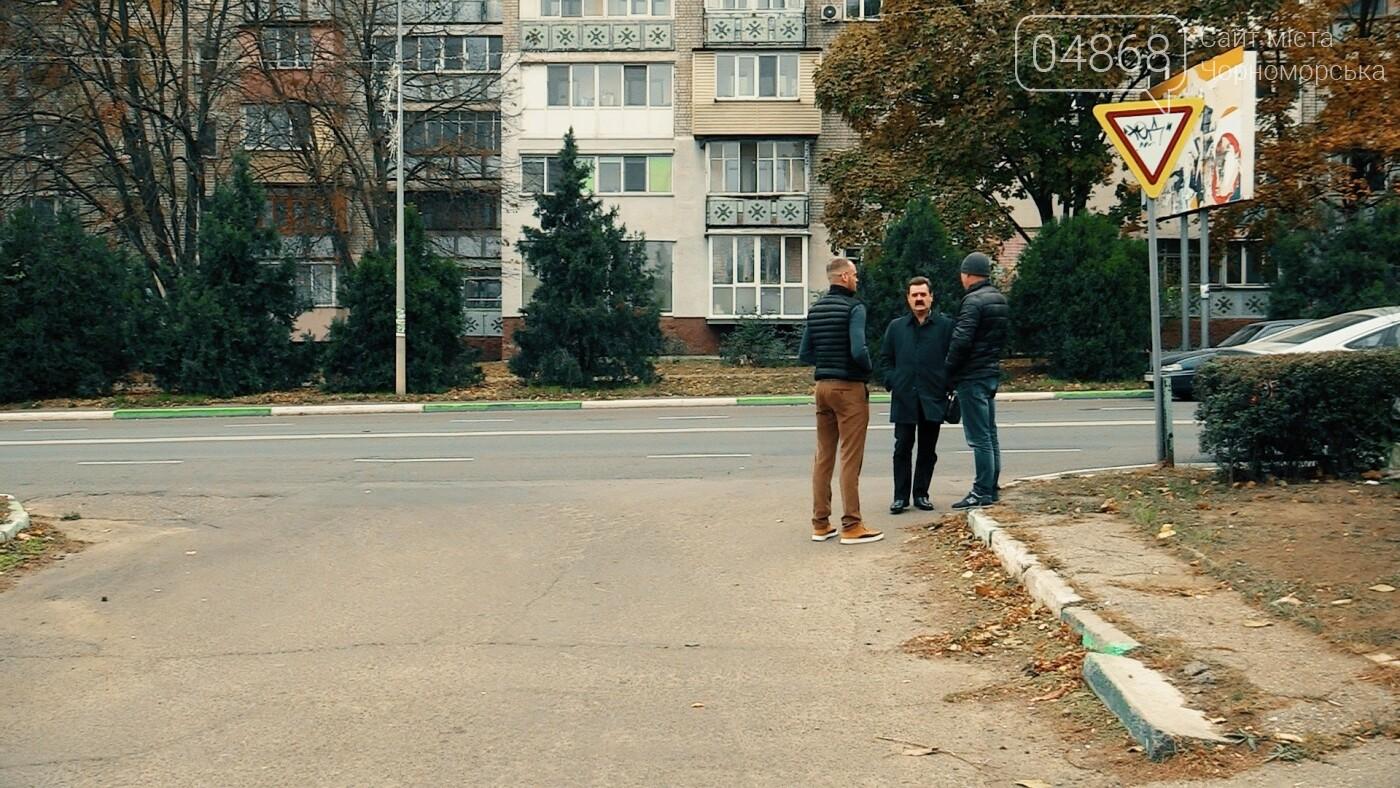 Проблема выезда с ул. Виноградной на ул. 1-го Мая может быть решена (спецрепортаж), фото-3