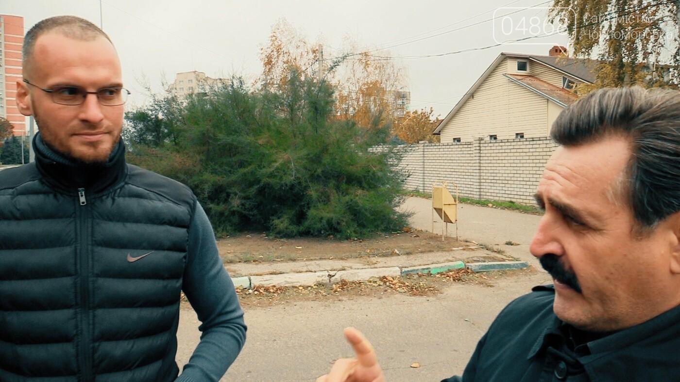 Проблема выезда с ул. Виноградной на ул. 1-го Мая может быть решена (спецрепортаж), фото-4