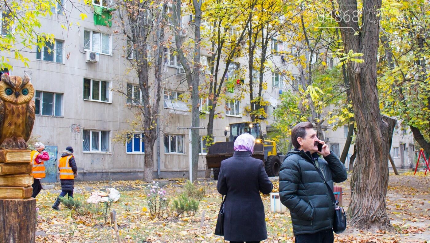 Как прошел общегородской субботник в Черноморске , фото-7