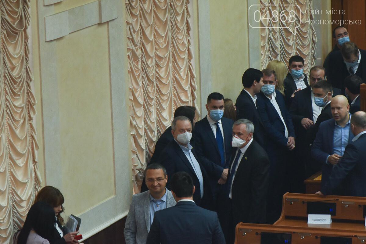 Скандал на сессии облсовета: депутаты заблокировали трибуну (видео) , фото-1