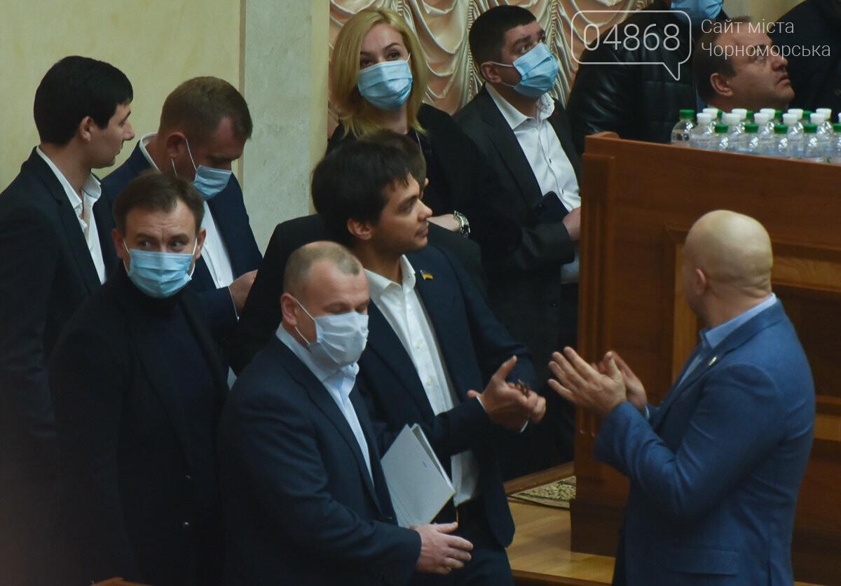Скандал на сессии облсовета: депутаты заблокировали трибуну (видео) , фото-2