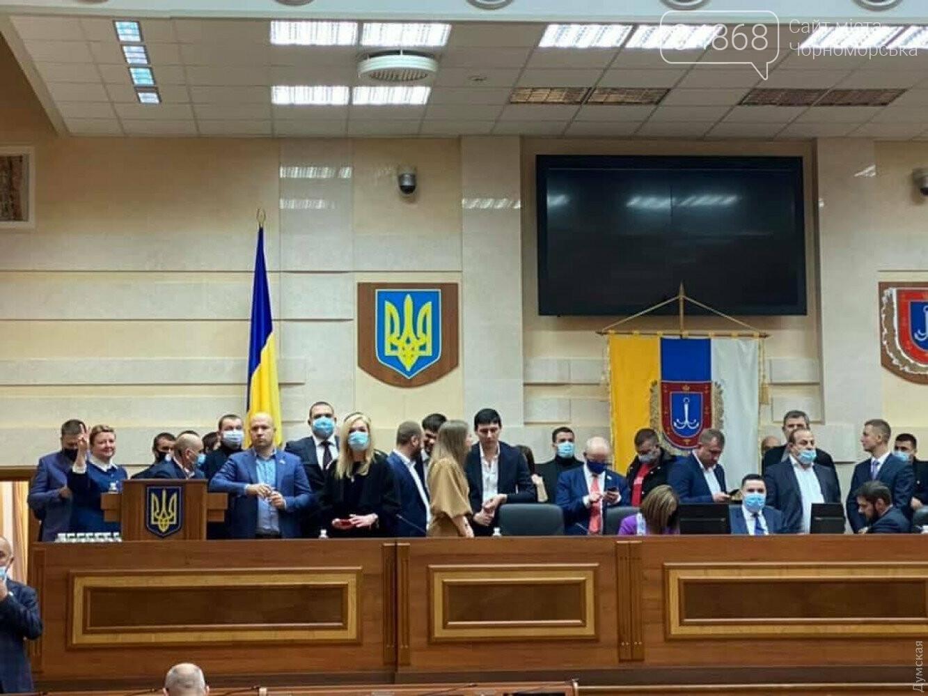 Скандал на сессии облсовета: депутаты заблокировали трибуну (видео) , фото-6
