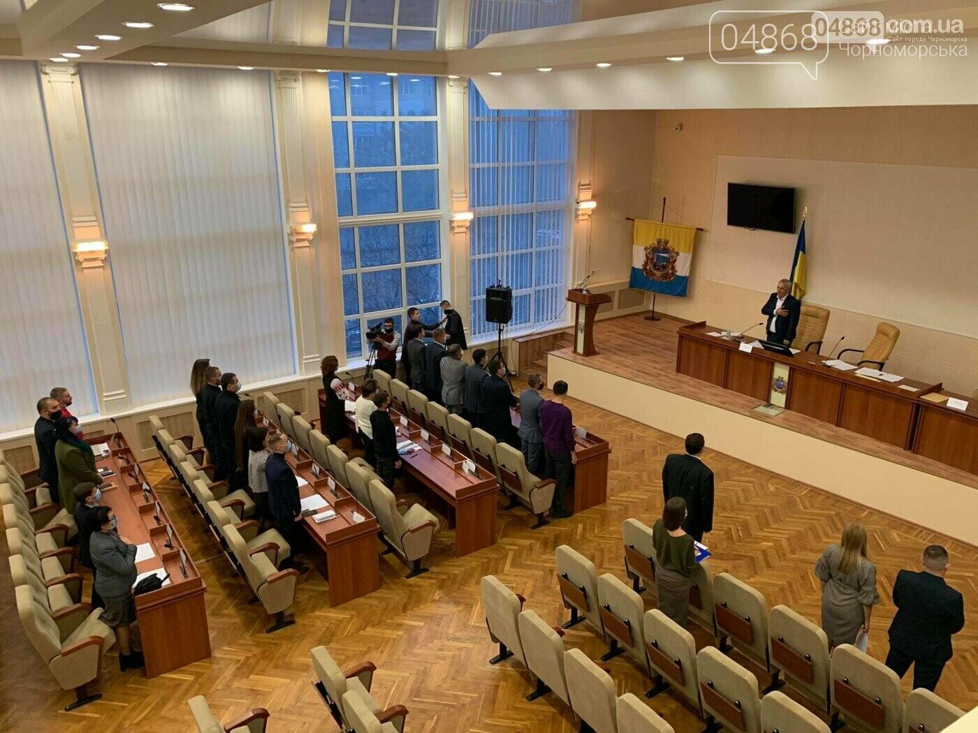 Как прошла 2-я сессия Черноморского городского совета (видео), фото-5