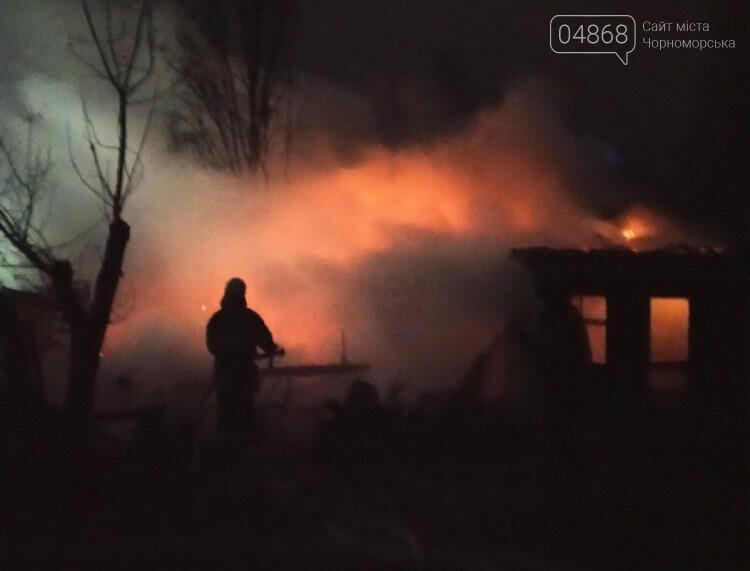 В Затоке горела база отдыха, фото-3
