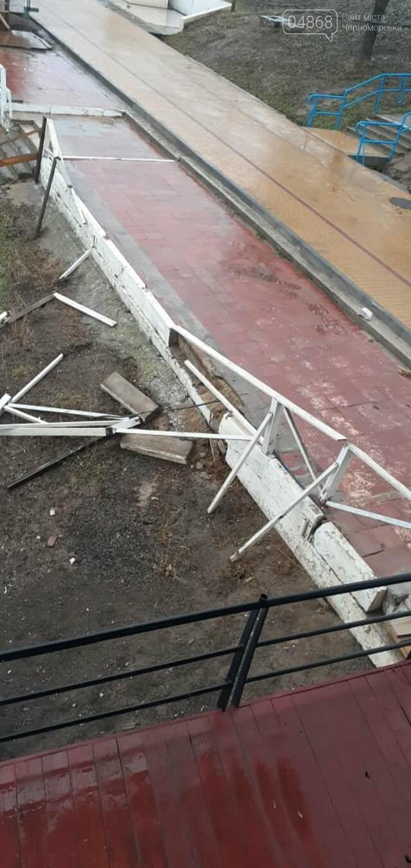 Вандализм в Черноморске не прекращается, фото-1