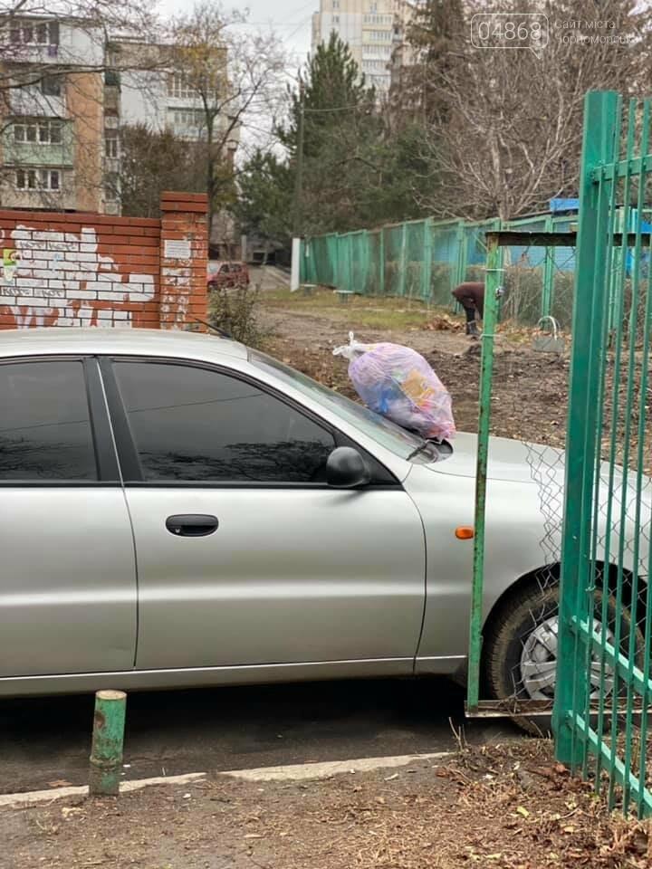 Правила парковки по-черноморски, или как делать не нужно, фото-1