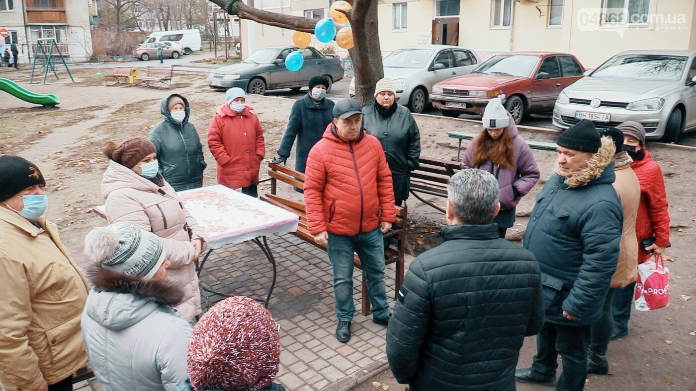 В Черноморске ведётся благоустройство домов (видео), фото-2